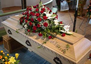 vill inte ha begravning